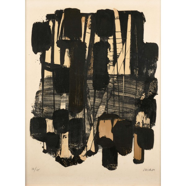 Pierre  Soulages Item 27969 Buy original art online