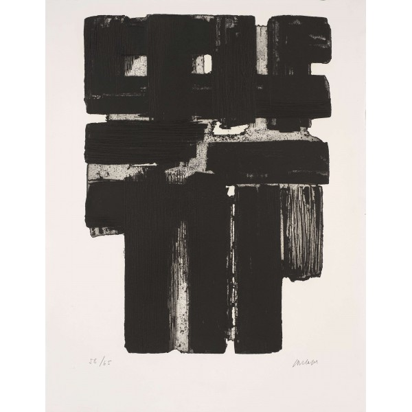 Pierre  Soulages Item 27992 Buy original art online