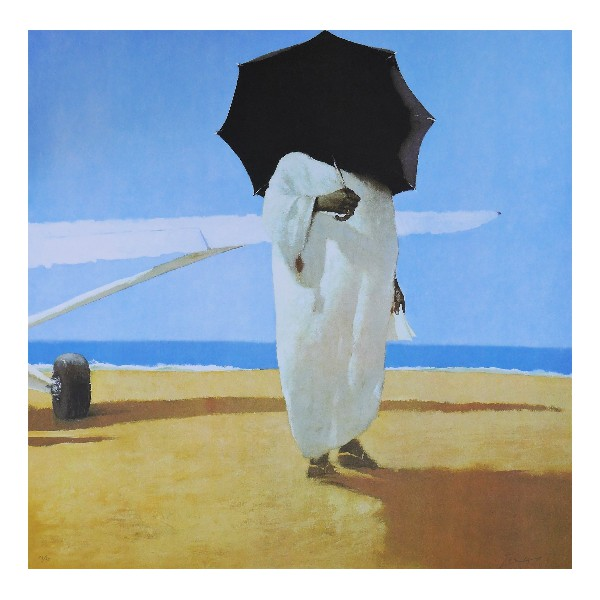 Julio  Larraz Item 26819 Buy original art online