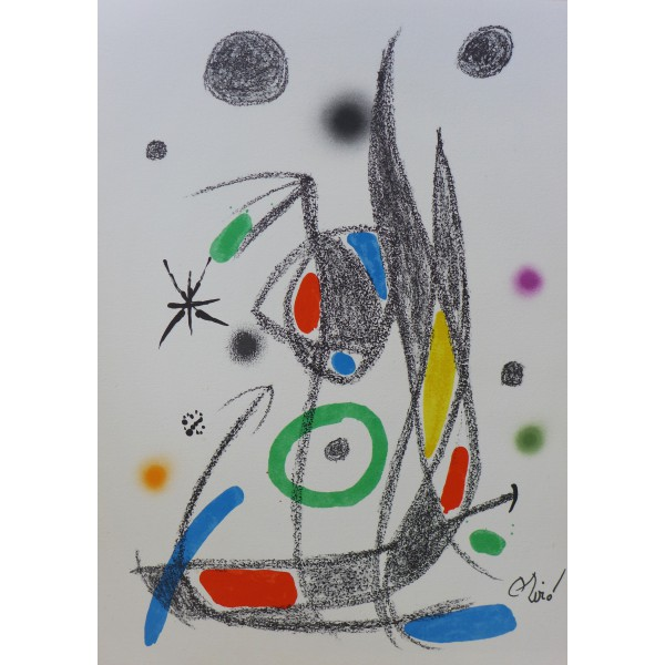 Joan  Miro Item 27180 Buy original art online