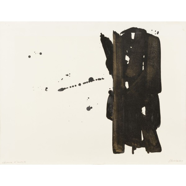 Pierre  Soulages Item 27966 Buy original art online