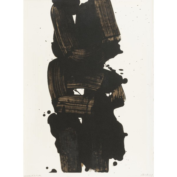Pierre  Soulages Item 27961 Buy original art online