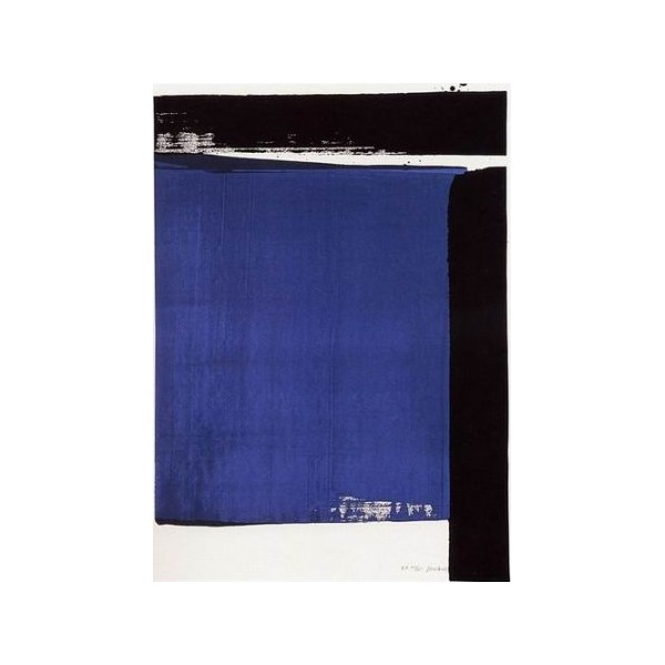Pierre  Soulages Item 27981 Buy original art online