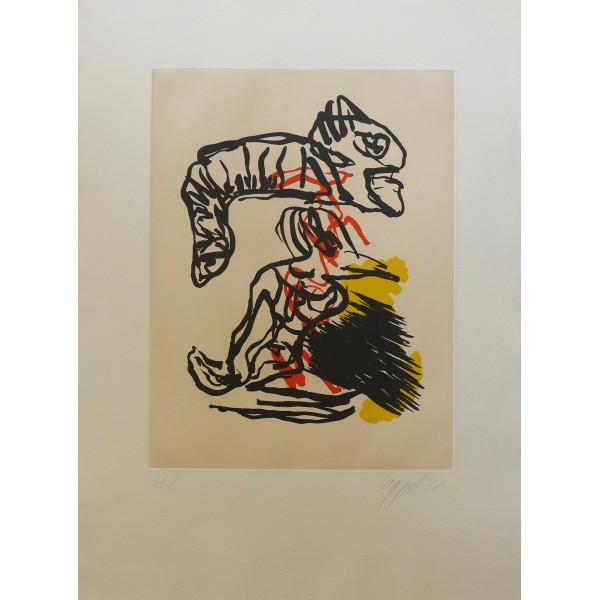 Karel  Appel Item 25129 Buy original art online