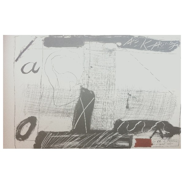 Antoni  Tapies Item 28132 Buy original art online