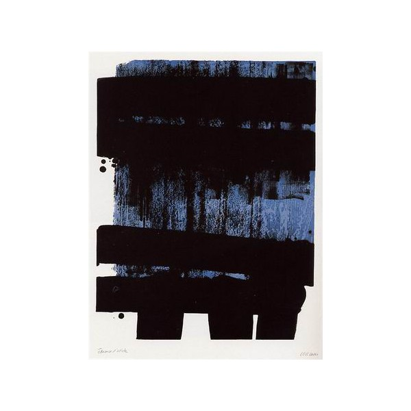 Pierre  Soulages Item 27979 Buy original art online