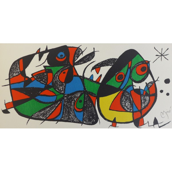 Joan  Miro Item 27188 Buy original art online