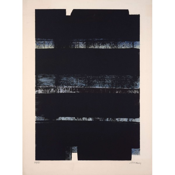 Pierre  Soulages Item 27970 Buy original art online