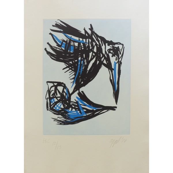 Karel  Appel Item 25128 Buy original art online