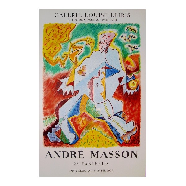 André  Masson Item 26993 Buy original art online