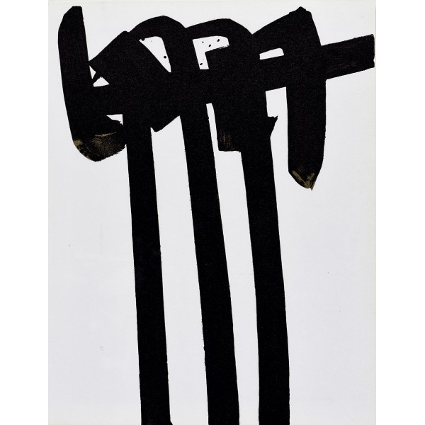 Pierre  Soulages Item 27973 Buy original art online