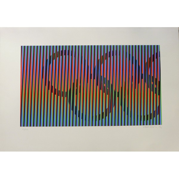 Carlos  Cruz-diez Item 29033 Buy original art online