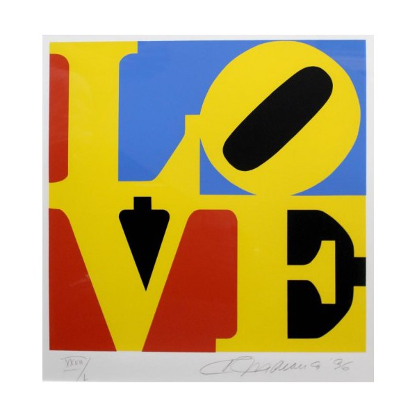 Robert  Indiana Item 26679 Buy original art online