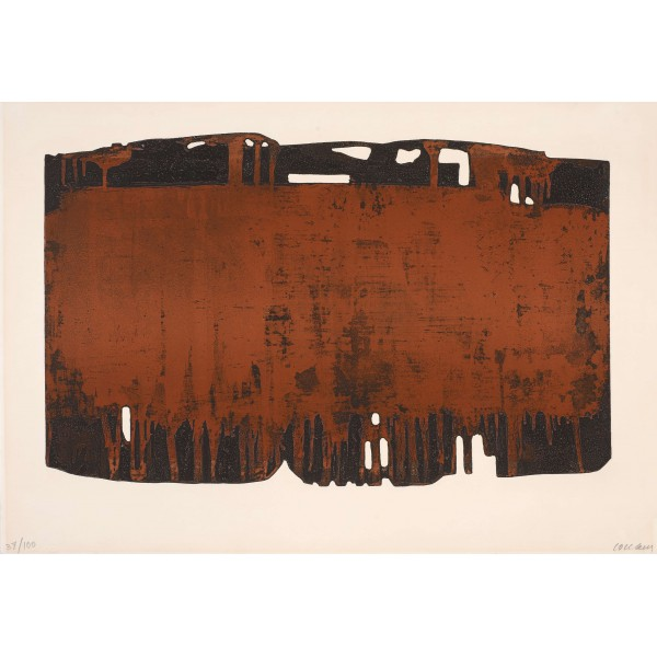 Pierre  Soulages Item 27990 Buy original art online