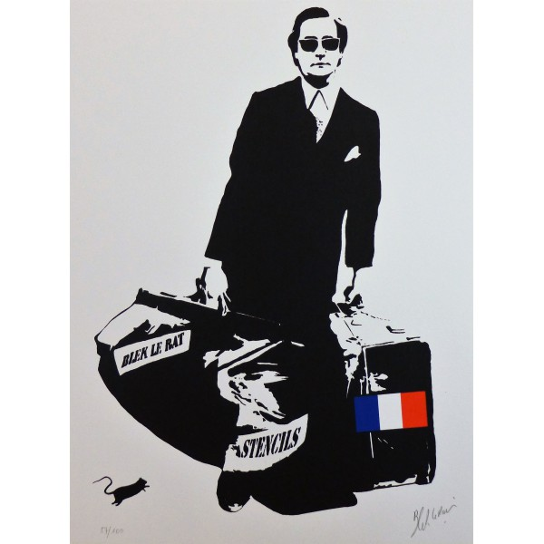 Art for sale Le rat  Blek Item 25455