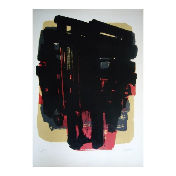 Pierre  Soulages Item 27957 Buy original art online