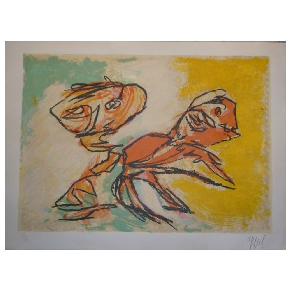 Karel  Appel Item 25125 Buy original art online