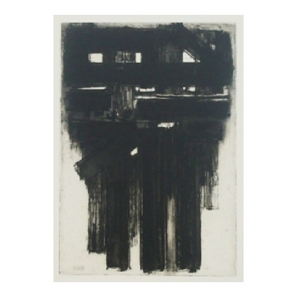 Pierre  Soulages Item 27951 Buy original art online