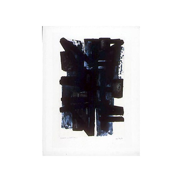 Pierre  Soulages Item 27980 Buy original art online