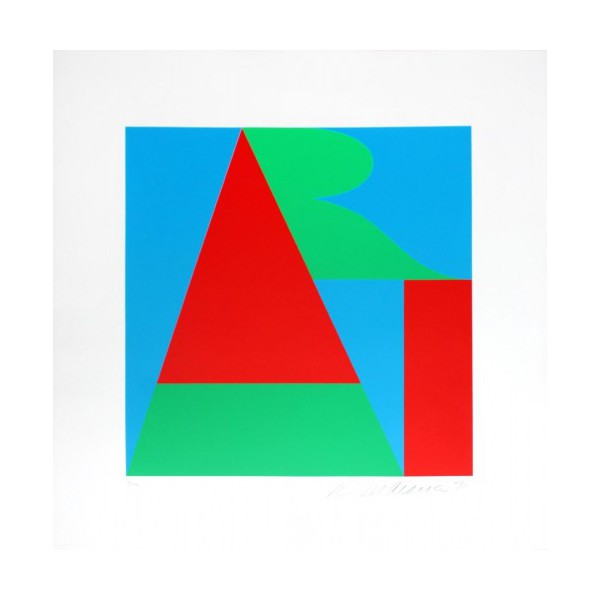 Robert  Indiana Item 29396 Buy original art online