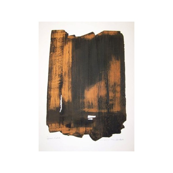 Pierre  Soulages Item 28005 Buy original art online
