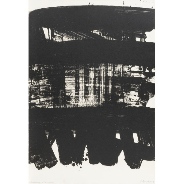 Pierre  Soulages Item 27965 Buy original art online