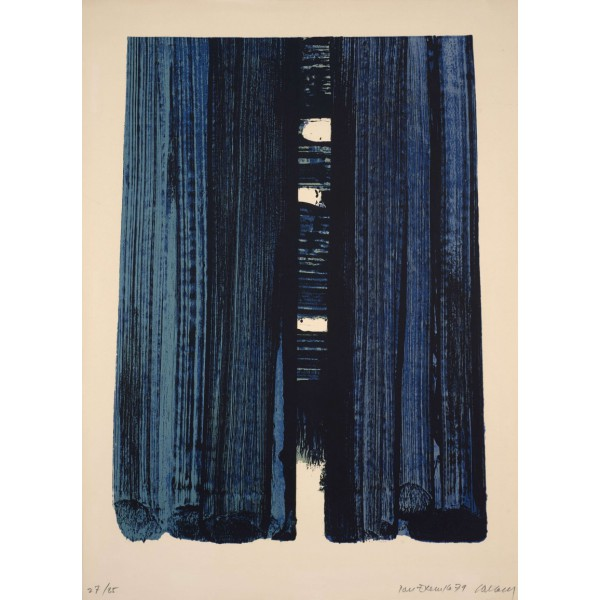 Pierre  Soulages Item 27986 Buy original art online