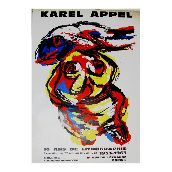 Karel  Appel Item 25127 Buy original art online