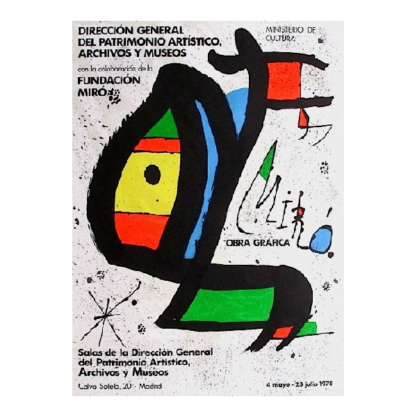 Joan  Miro Item 27207 Buy original art online