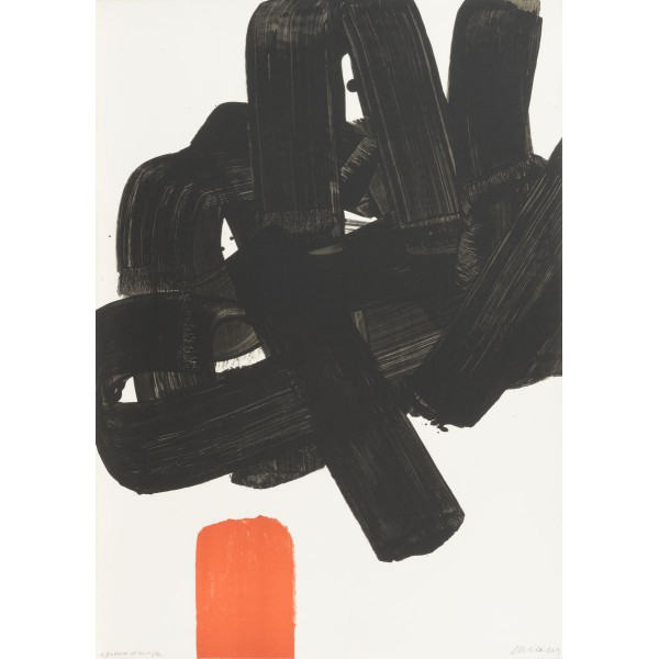 Pierre  Soulages Item 27960 Buy original art online