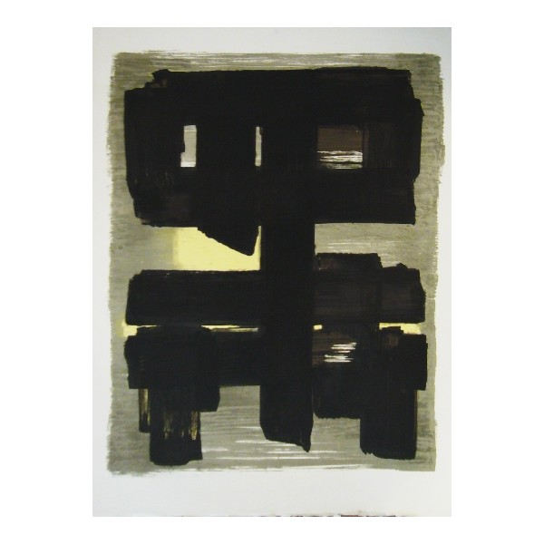Pierre  Soulages Item 27953 Buy original art online
