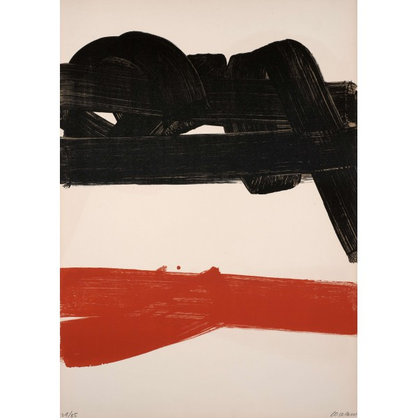 Pierre  Soulages Item 27971 Buy original art online