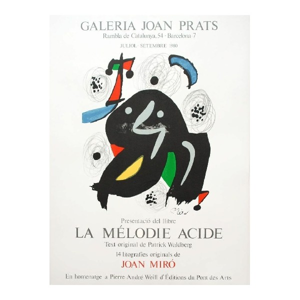 Joan  Miro Item 27205 Buy original art online