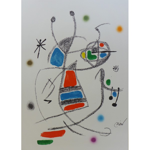 Joan  Miro Item 27177 Buy original art online