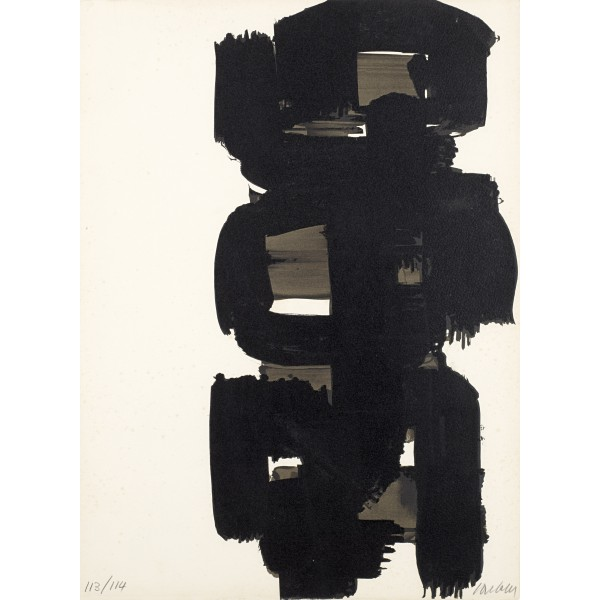 Pierre  Soulages Item 27978 Buy original art online
