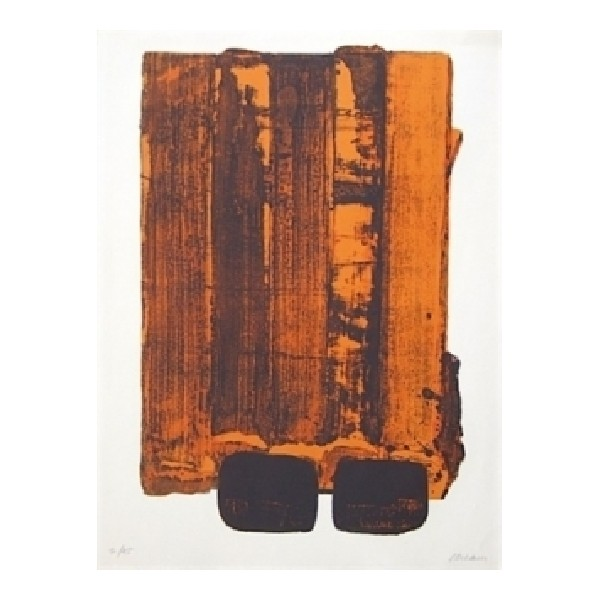 Pierre  Soulages Item 27958 Buy original art online