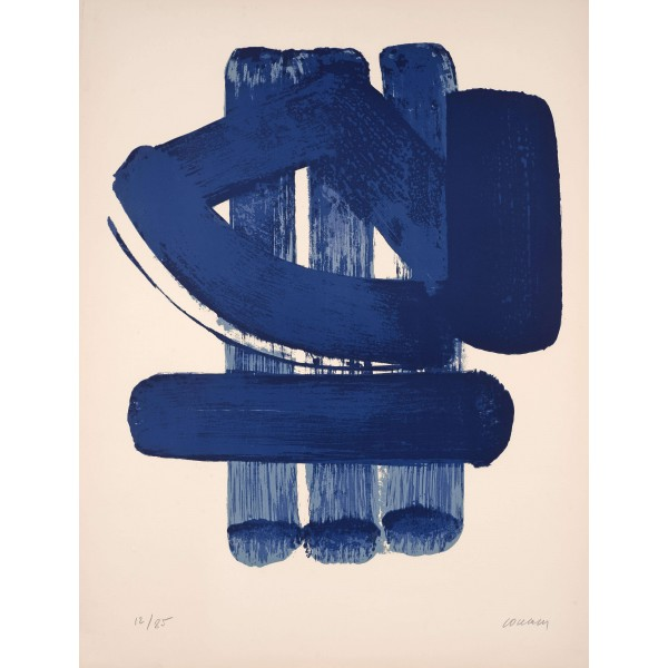 Pierre  Soulages Item 27987 Buy original art online