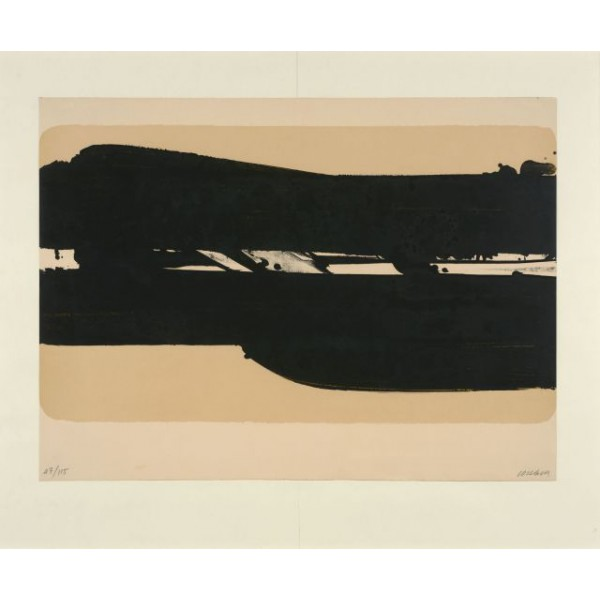 Pierre  Soulages Item 27985 Buy original art online