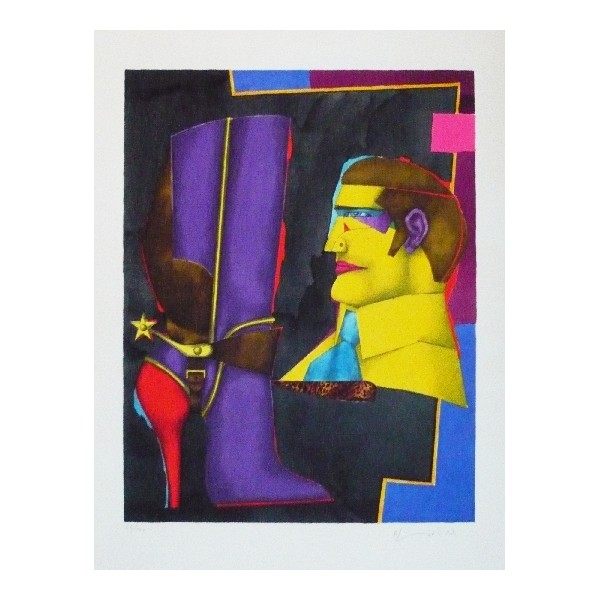 Richard  Lindner Item 26834 Buy original art online