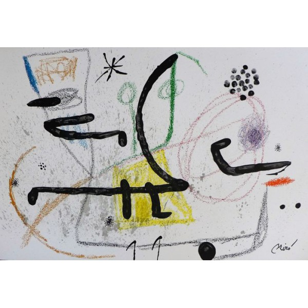 Joan  Miro Item 27172 Buy original art online