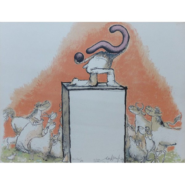 Ronald  Searle Item 27905 Buy original art online