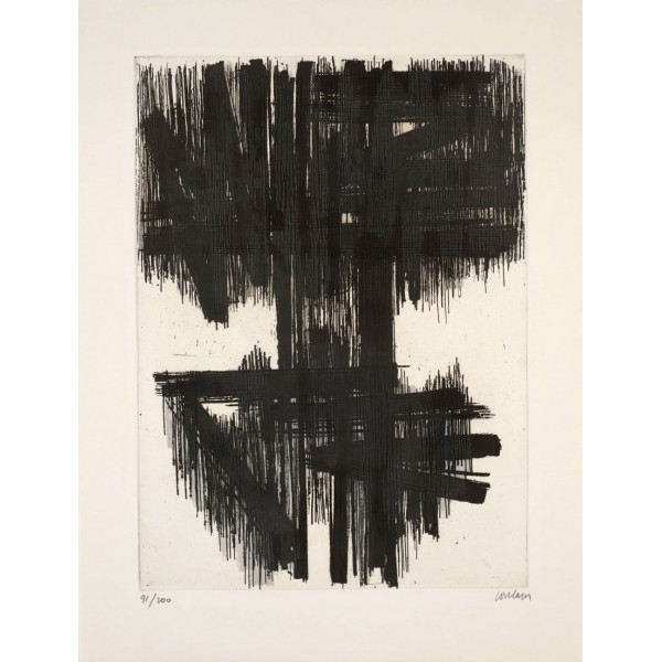 Pierre  Soulages Item 27993 Buy original art online