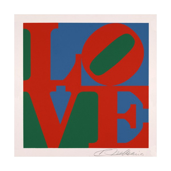 Robert  Indiana Item 26677 Buy original art online