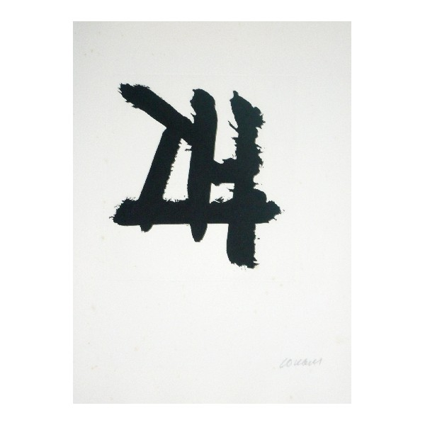 Pierre  Soulages Item 27956 Buy original art online