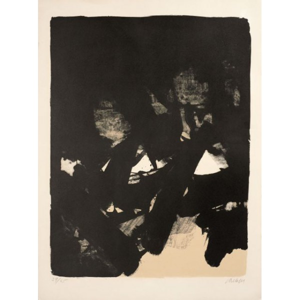 Pierre  Soulages Item 27984 Buy original art online