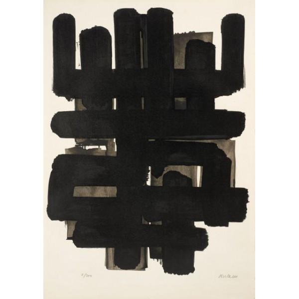 Pierre  Soulages Item 27989 Buy original art online